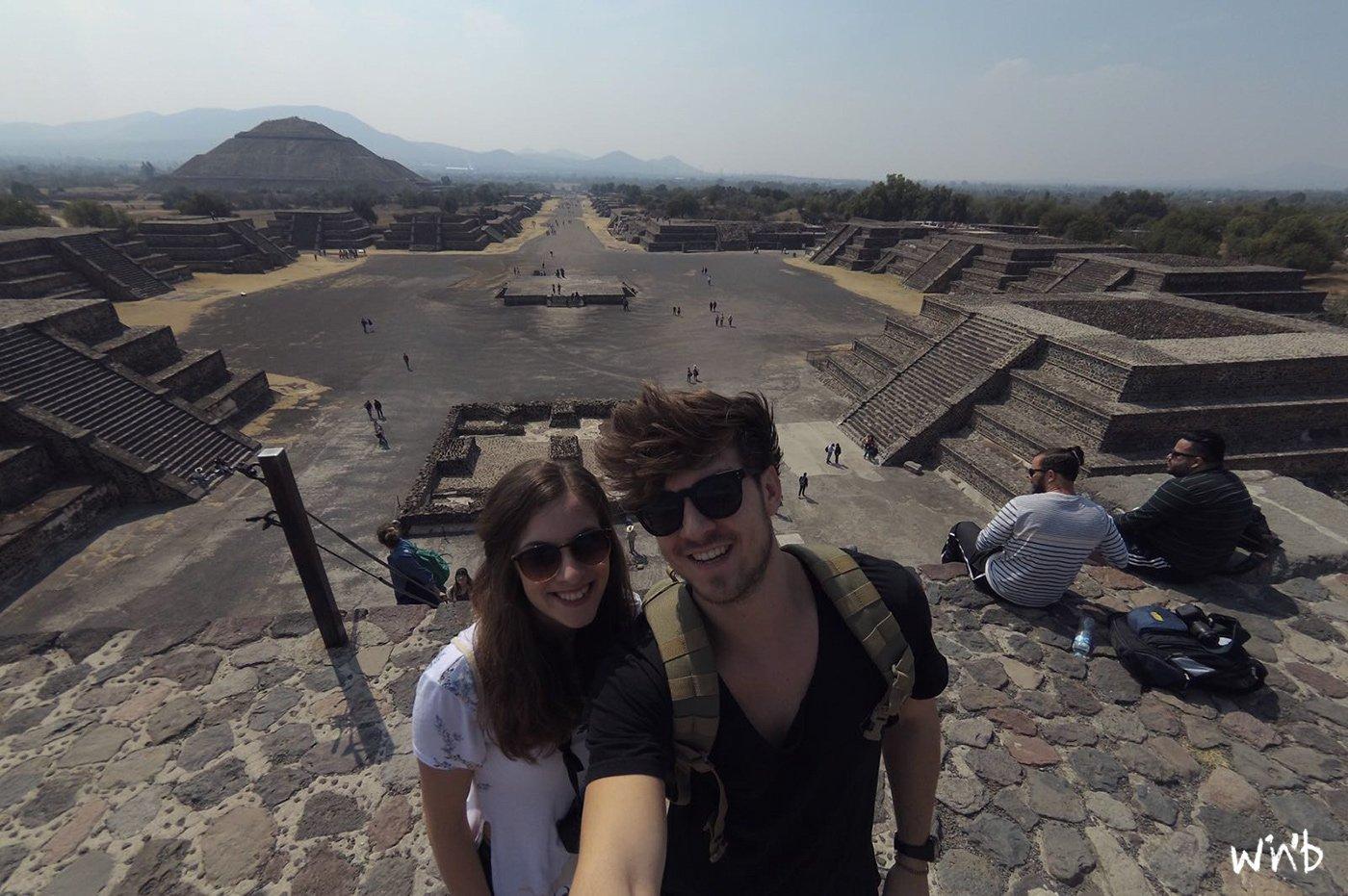 Pyramides de Teotihuacán