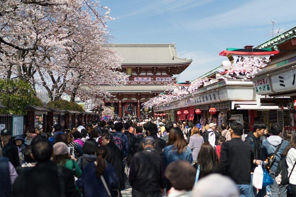 Sensoji, Tokio