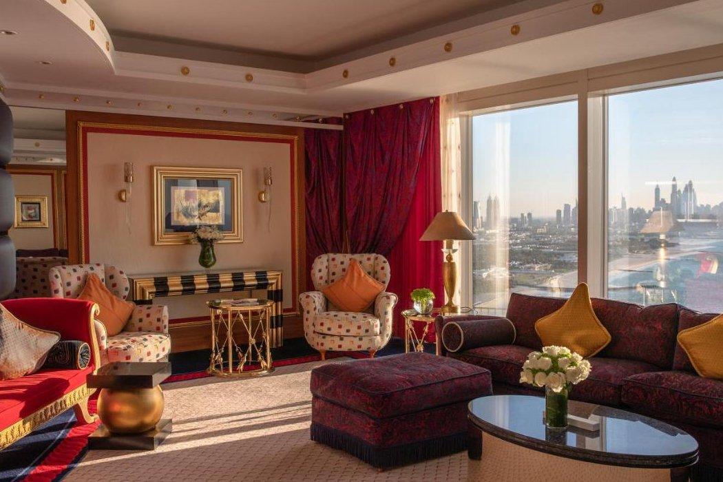 Hotelzimmer im Wolkenkratzer