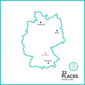 Wo liegt Erlangen?