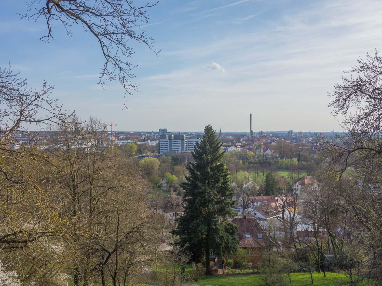 Der beste Ausblick auf Erlangen!