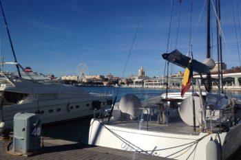 Hafenviertel von Málaga