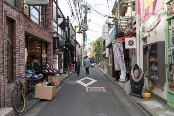 Straßen in Harajuku