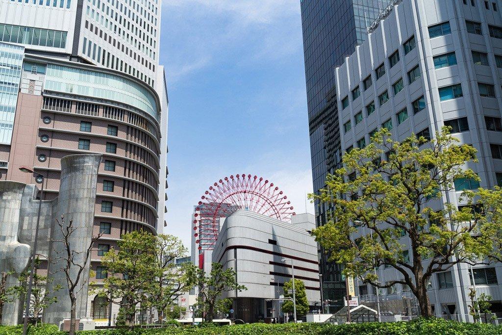 Hep Five Riesenrad in Osaka
