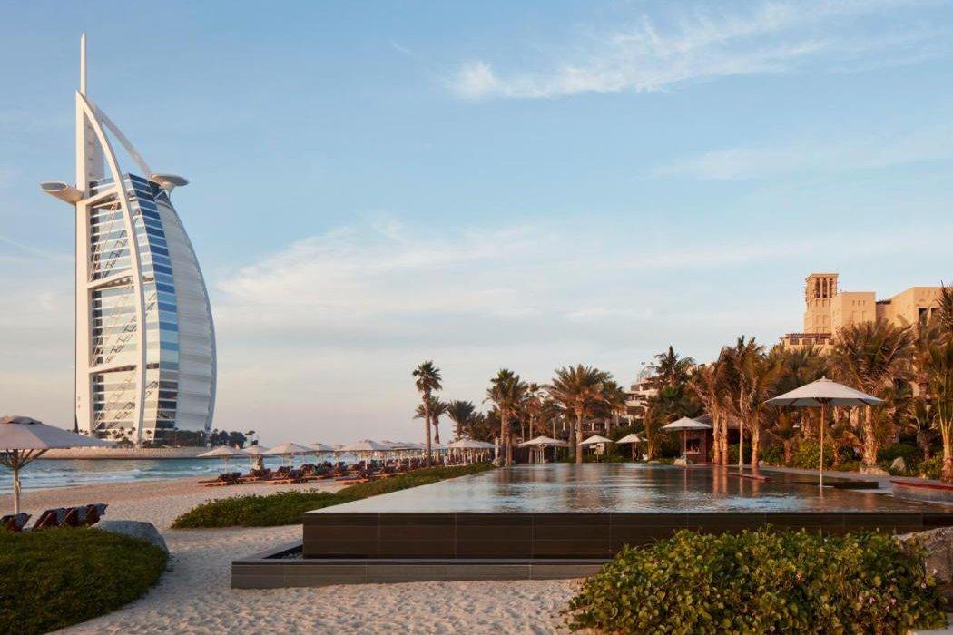 Strandblick auf Burj Al Arab