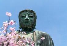 Der große Buddha in Kamakura