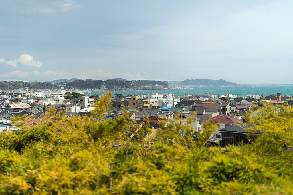 Aussicht auf Kamakura