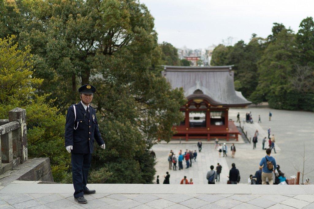 Aussicht vom Tsurugaoka Hachimangu