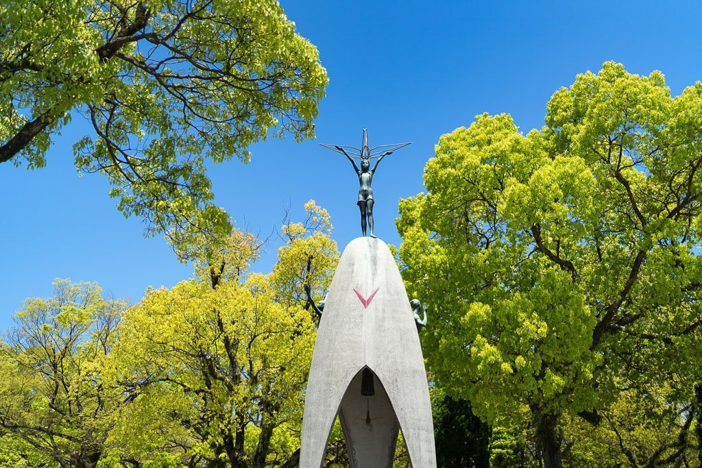 Kinder Friedensmonument Hiroshima