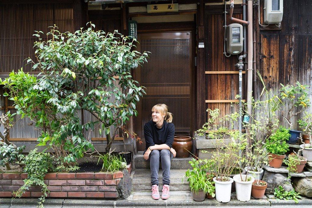 Süßes Haus Kyoto