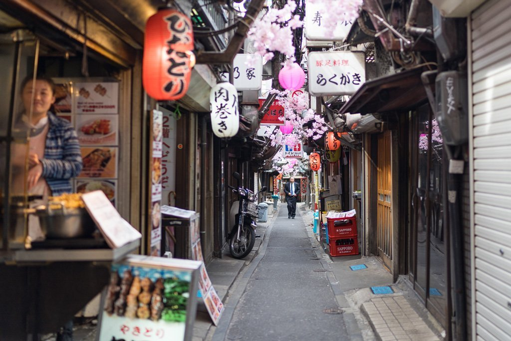 Piss Alley in Shinjuku