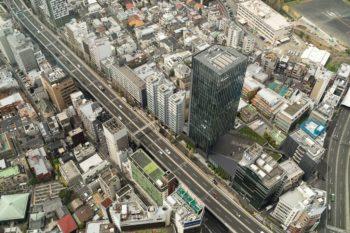 Aussicht auf Tokio vom Mori Tower, Roppongi Hills