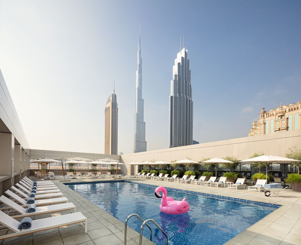 Rove Downtown Dubai Pool