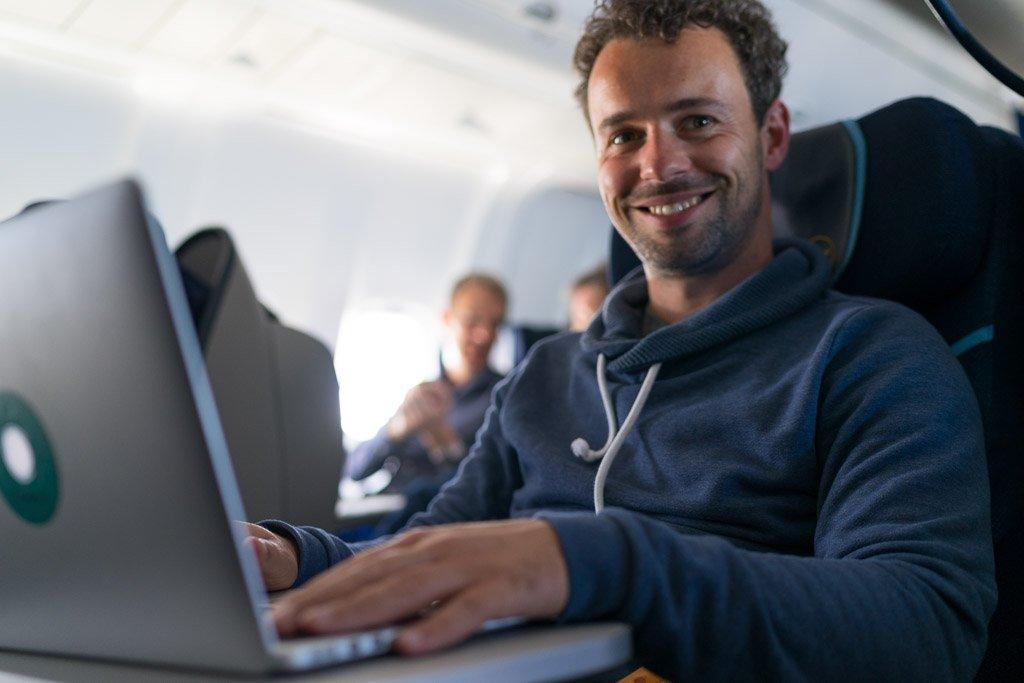 Condor Business Class Arbeiten