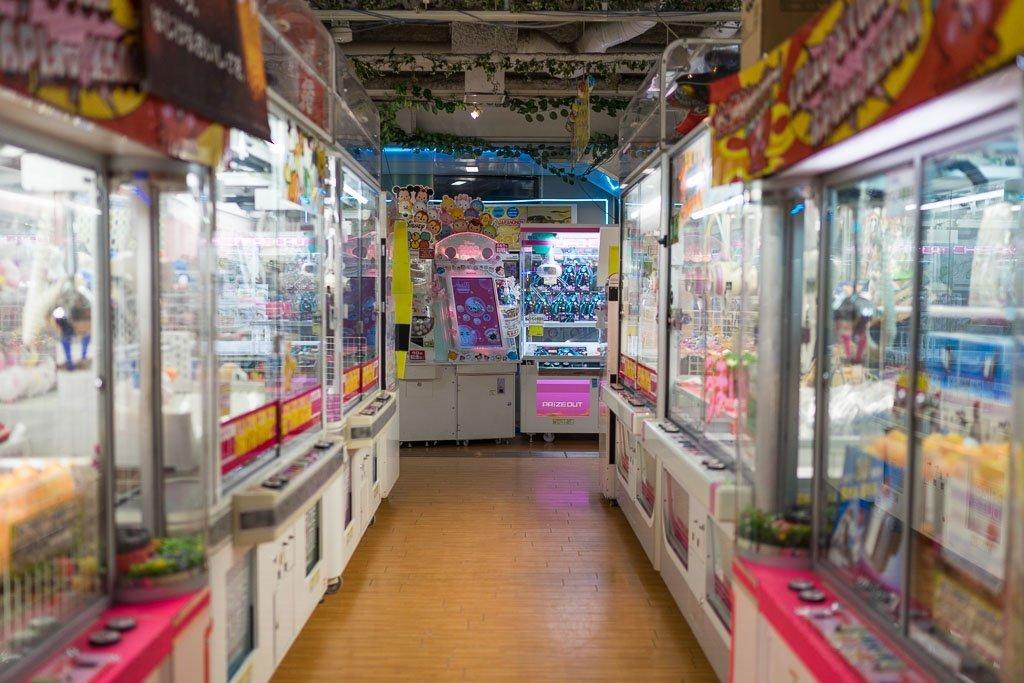 Spielhallen in Japan
