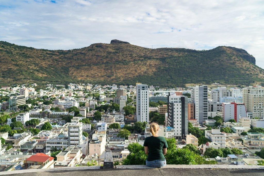 Port Louis - Aussicht auf die Stadt vom Fort Adelaide