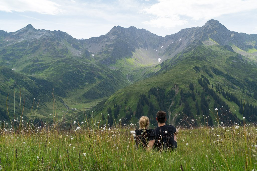 Bergwiesen Vorarlberg
