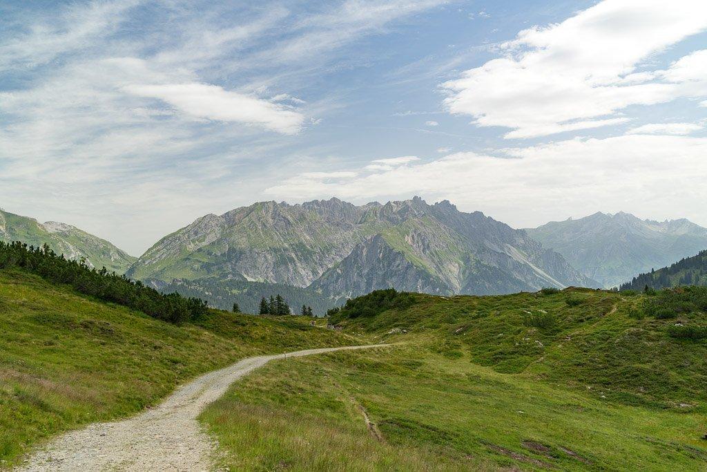 Wanderweg Vorarlberg