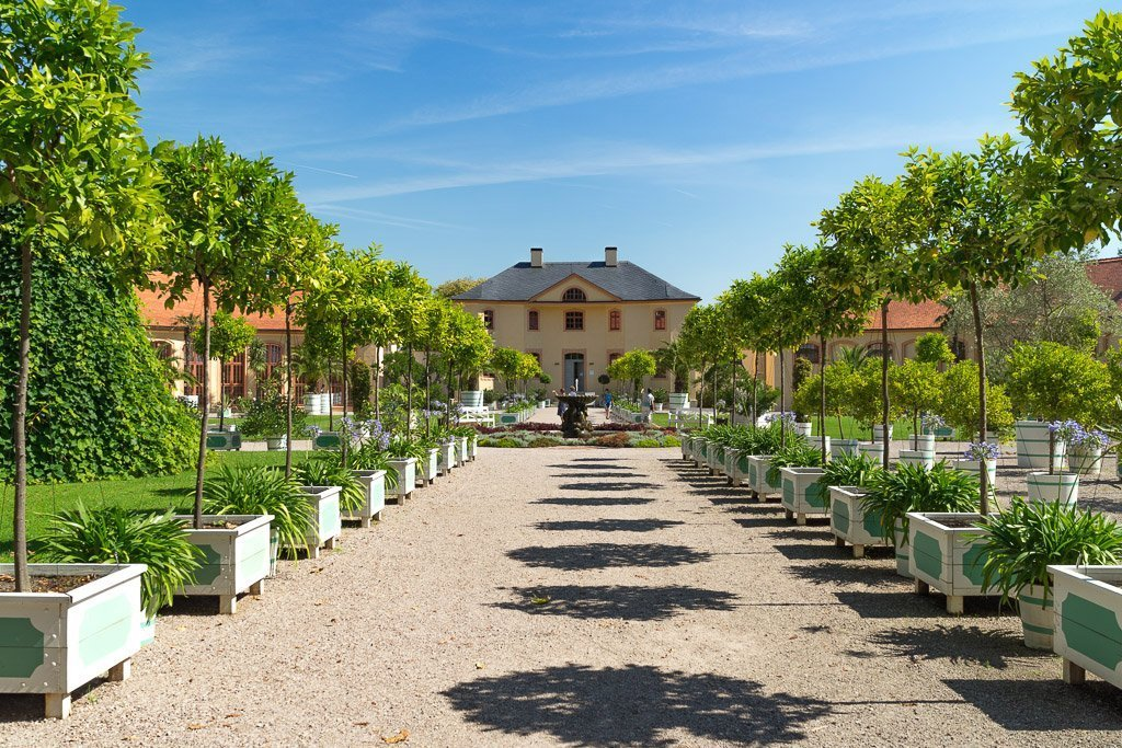 Orangerie des Schloss Belvedere