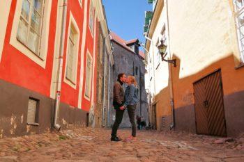 Schlendern in den Straßen der Altstadt