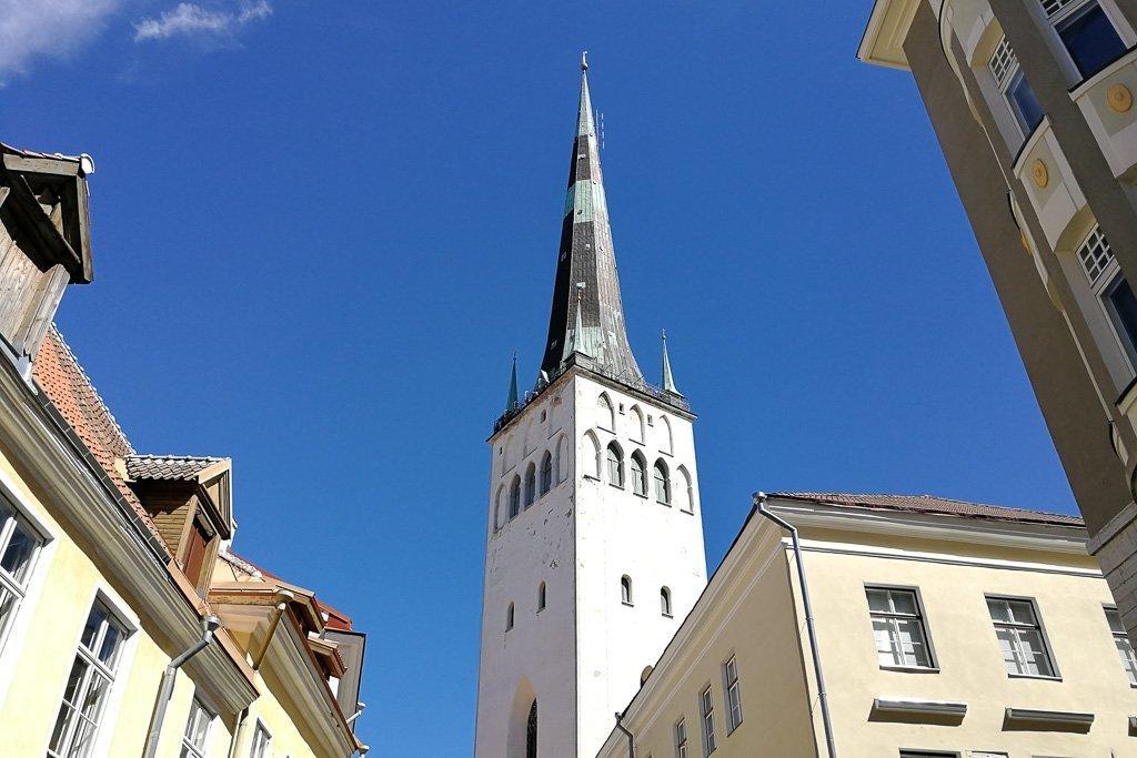 Die Olaikirche in Tallinn