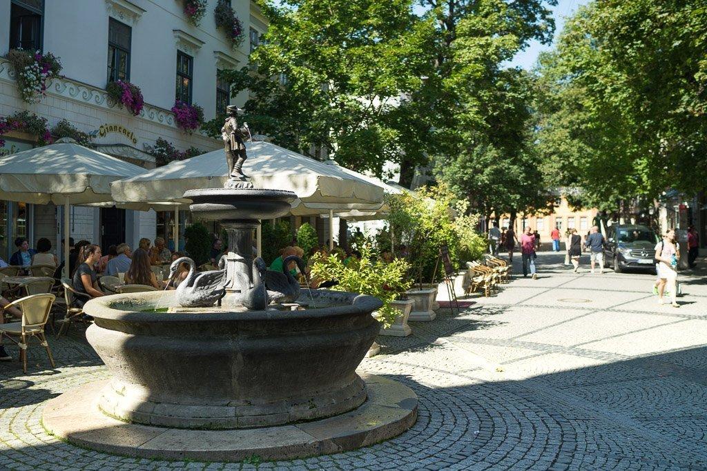 Weimars Altstadt ist wirklich wunderhübsch.