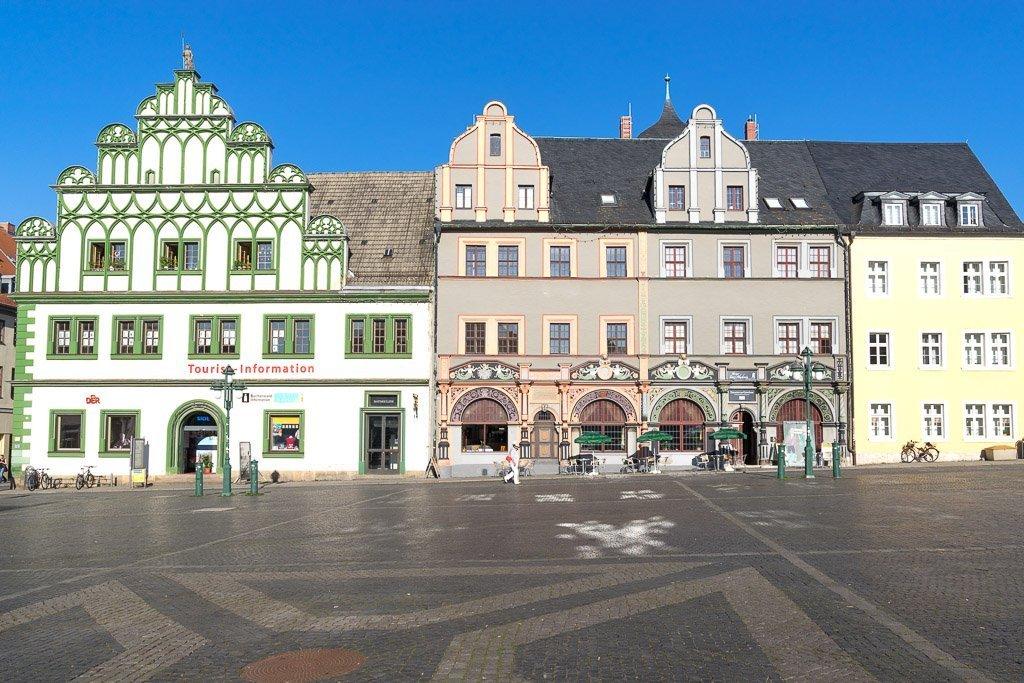 Weimarer Markplatz