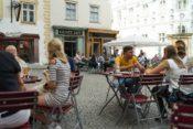 Kleines Café am Franziskanerplatz