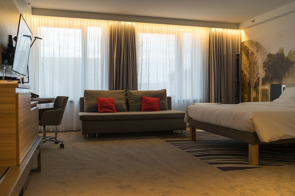 Room at the Novotel by the Central Station in Vienna