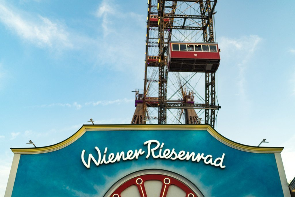 The Wiener Riesenrad in the Prater