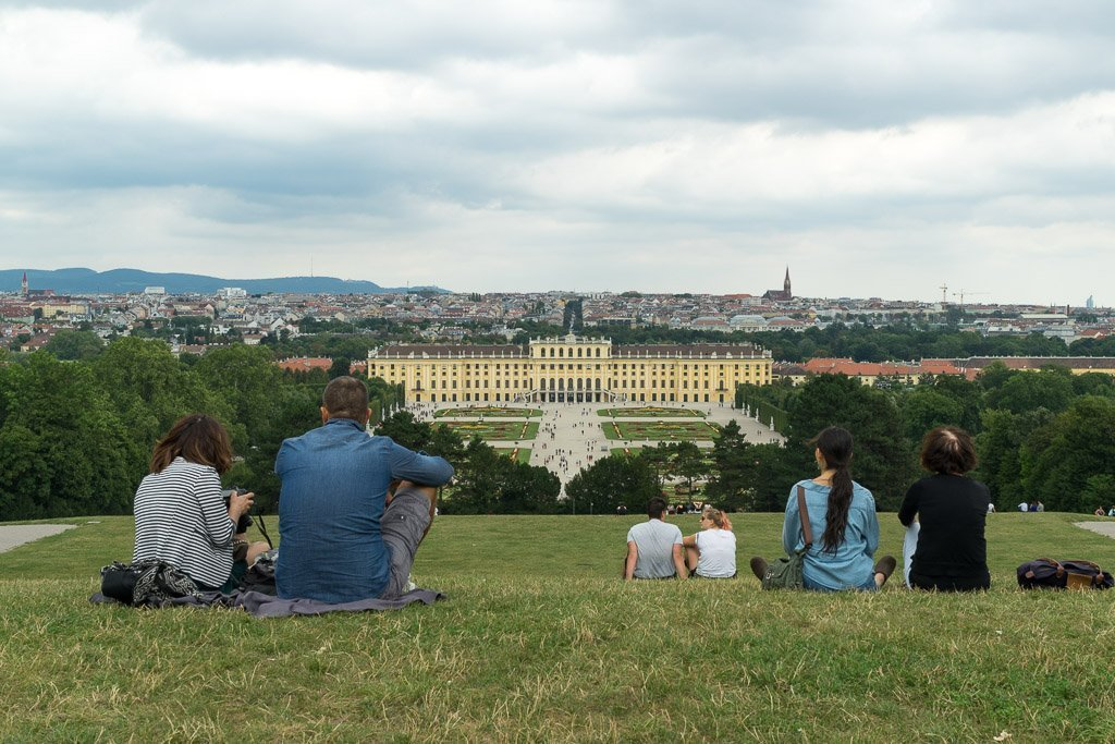 The view from the Gloriette