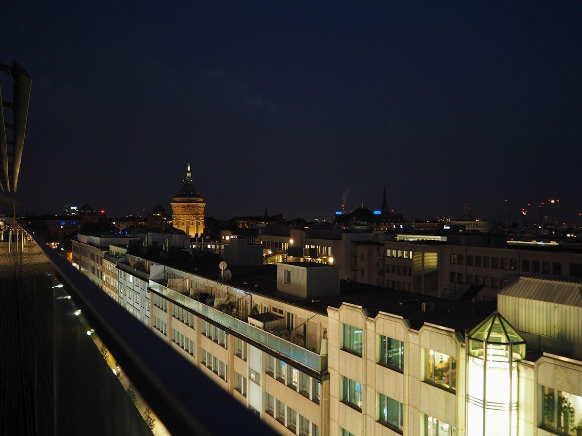 Aussicht von der Roofbar