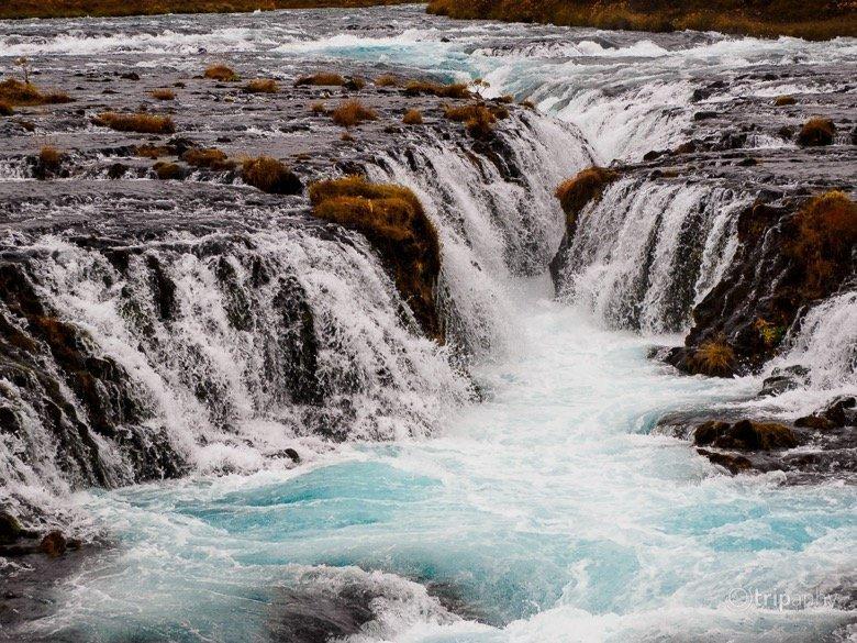 Bruarfoss Wasserfall