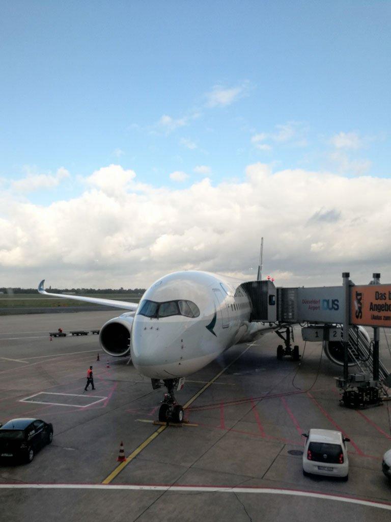 Erfahrungsbericht für die Premium Economy von Cathay Pacific