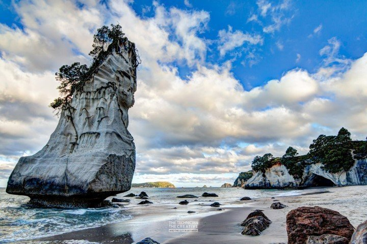 Cathedral Cove Umgebung