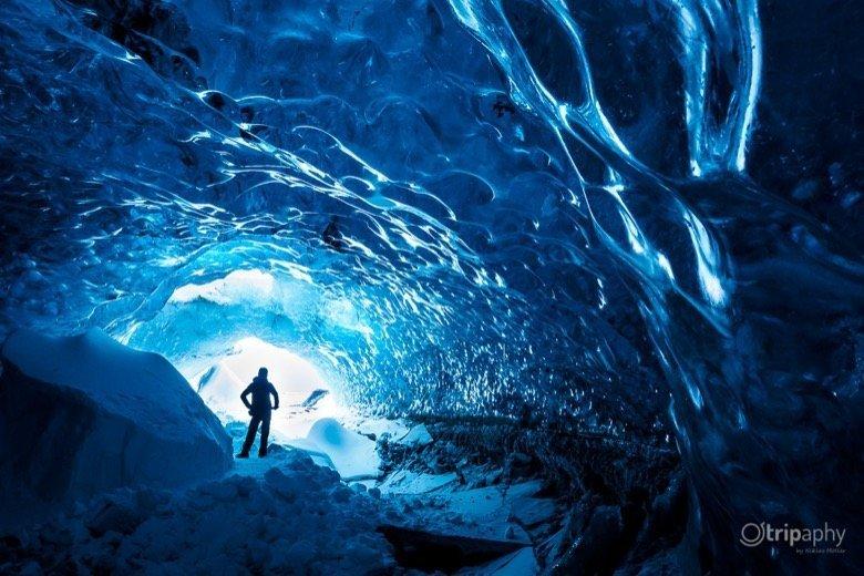 Eishöhle Fotomotiv