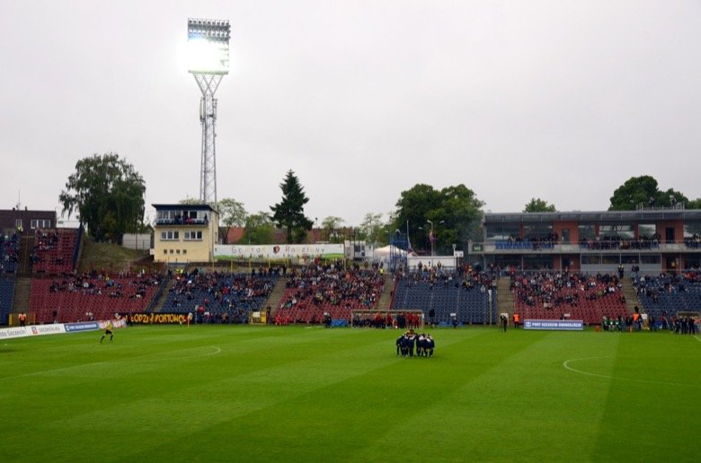 Florian-Krygier-Stadion, Stettin