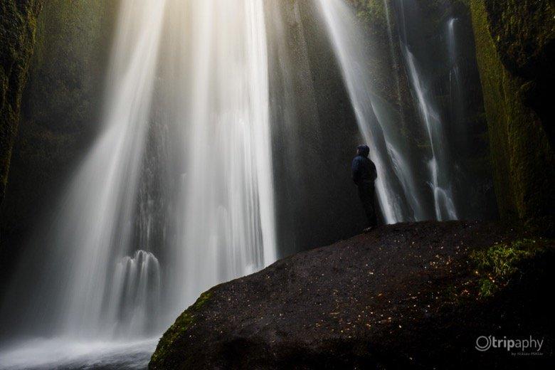 Gljúfrafoss Wasserfall