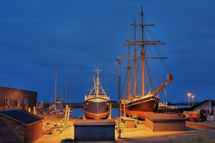 Hafen Hvide Sande