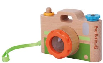 Holzkamera für Kinder