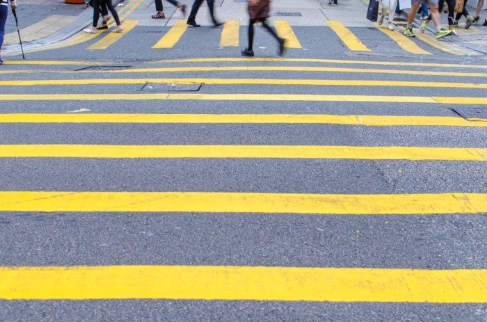 Hongkongs Straßen sind eine Sehenswürdigkeit für sich