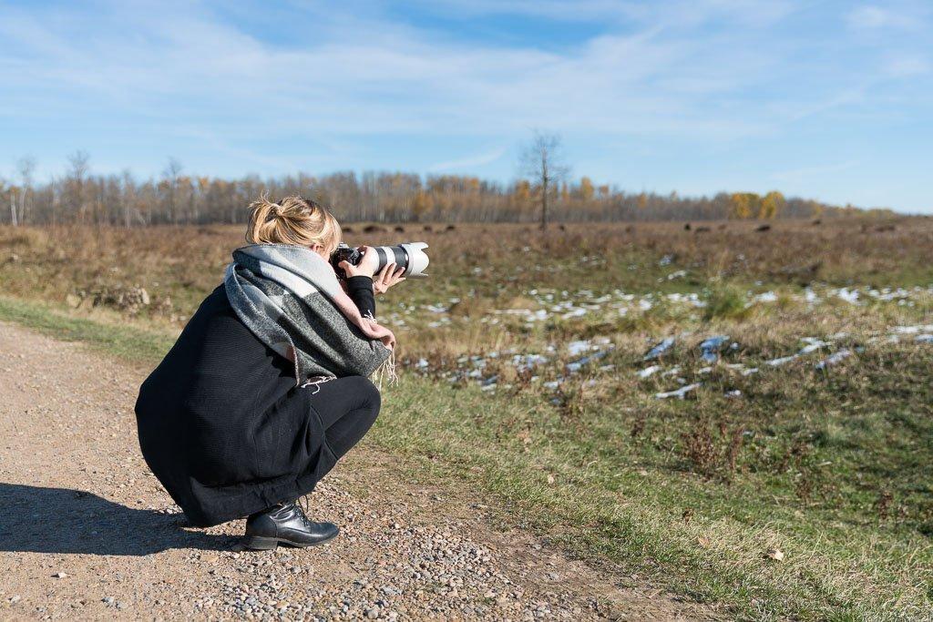 Kamera abstützen um umscharfe Fotos zu vermeiden