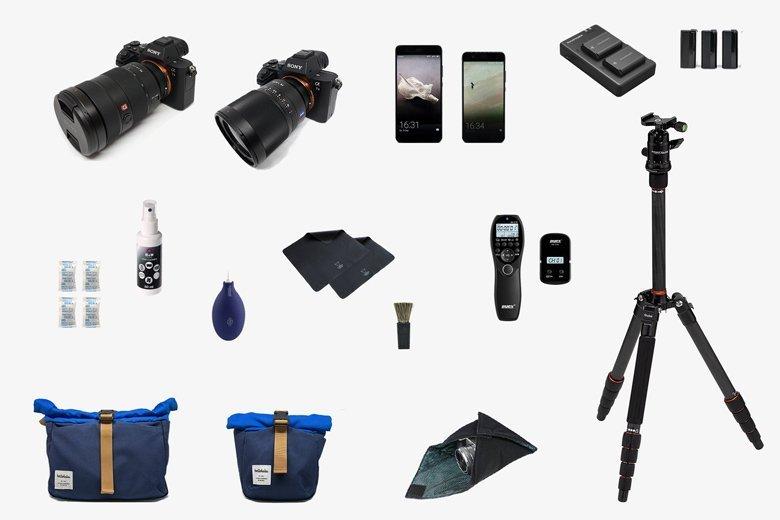 Unser Fotoausrüstung