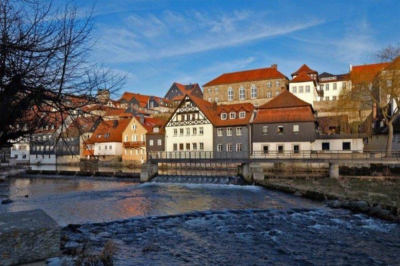 Kronacher Altstadtblick