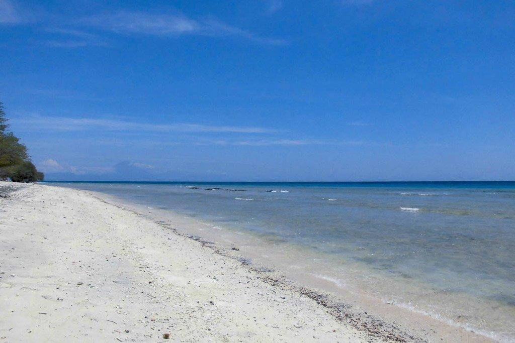 Gili Inseln, Trawangan Strand
