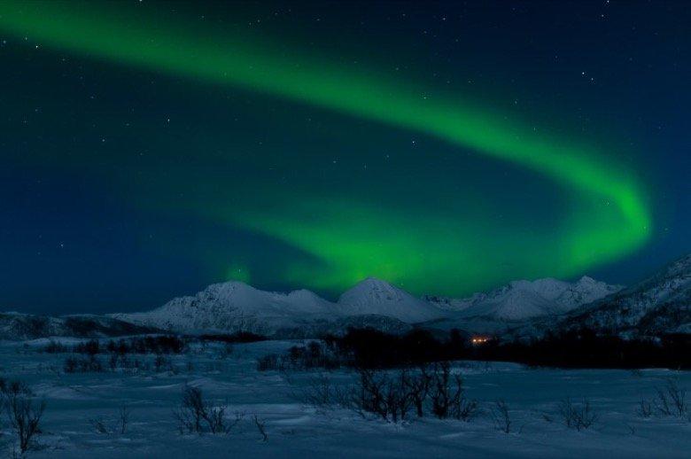 Nordlichter in Tromsö
