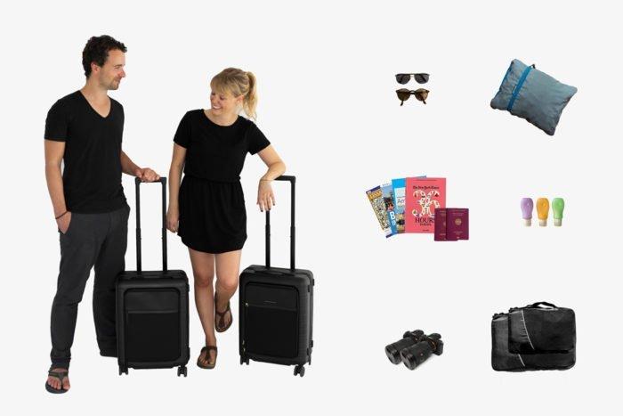 Unsere Packliste für Städtetrips! Unsere besten Packtipps und Reisegadgets.