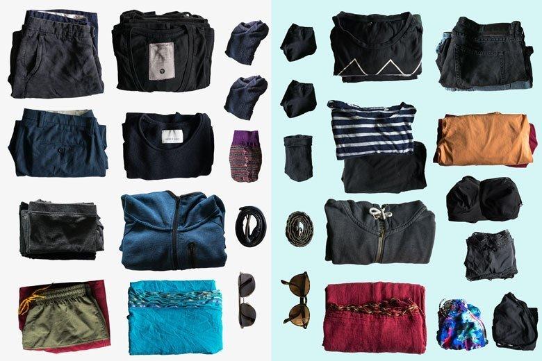 Kleidung für Südostasien