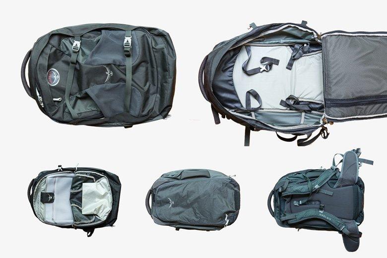 Handgepäckrucksack für Südostasien