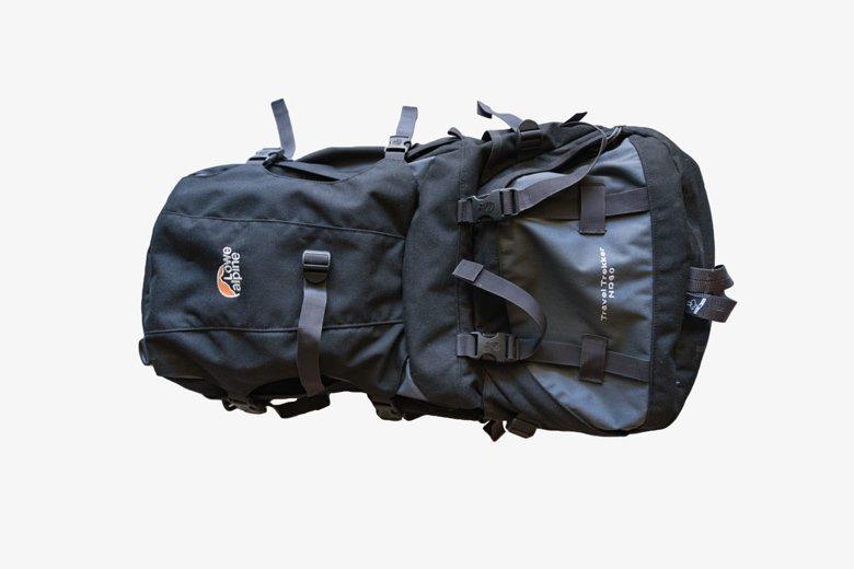 60 Liter Rucksack für Südostasien